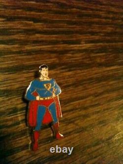 1940 Superman Enamel Pin Pristine Gem Mint Action DC Comics RARE SCARCE Classic