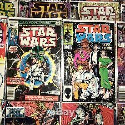 1977 Marvel Star Wars 47 comic lot original classic vintage