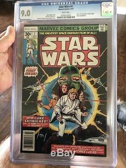 (1977) Star Wars #1 CGC 9.0 WH