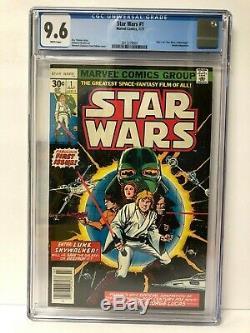 1977 Star Wars #1 Marvel Comics 9.6 CGC