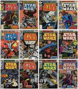 1977 Star Wars Comic Book Lot #1-107 Vintage Marvel Full Set 107 Comics