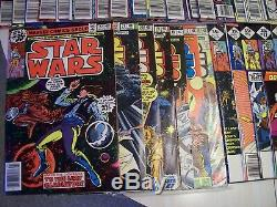1977 Star Wars Marvel Comics Complete Set Issues 1-107 Excellent condition