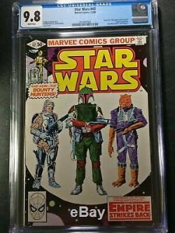1980 Marvel Star Wars #42 CGC 9.8 WP 1st Appearance of Boba Fett