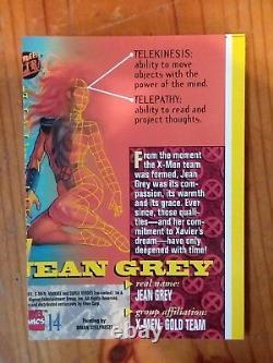1994 Fleer Ultra X-men #14 Jean Grey Error Card. Very Rare! 1of 1 Nm/mint