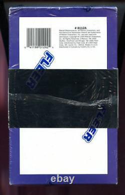 1995 Fleer Marvel Masterpieces Card Set Wax Pack Box Comic Masterpiece