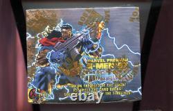 1997 Fleer Skybox X-Men Timelines Card Set Wax Pack Box XMen Marvel Comics