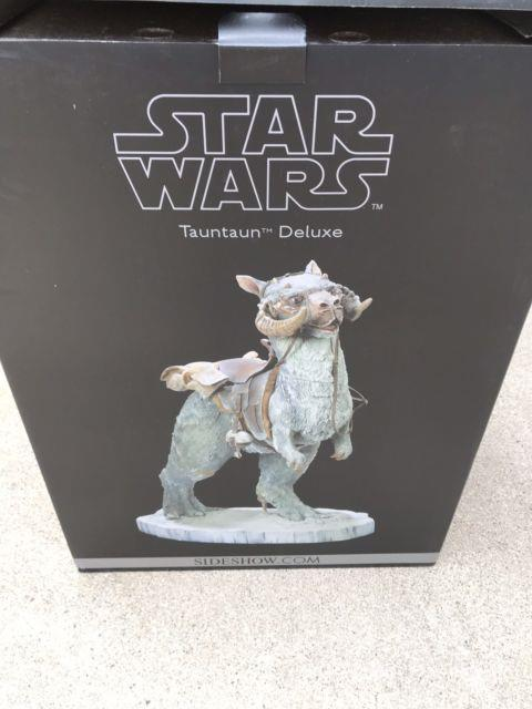 1/6 Scale Sideshow Deluxe Star Wars Tauntaun Mint In Original Box