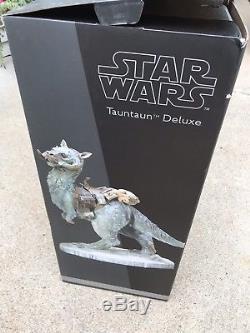 1/6 Scale Sideshow Deluxe Star Wars Tauntaun Mint In Original Box