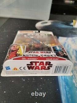 2009 Hasbro Star Wars 2009 Comic Packs #11 Ulic Qel-Droma & Exar Kun