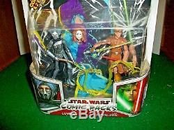 2009 Star Wars Comic Packs # 7 Lumiya and Luke Skywalker by Hasbro