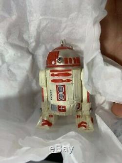 2011 Hallmark Star Wars R2-Q5 R2-A3 Keepsake Ornament New York Comic Con RARE