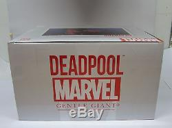 2012 Gentle Giant Limited Pgm Exclusive Marvel Bust Deadpool #10 Of 1700 New