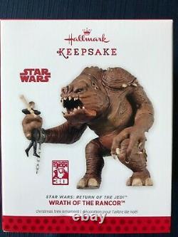 2013 Star Wars Hallmark Wrath of Rancor Ornament Never Displayed Comic Con