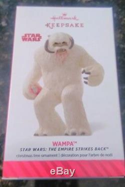 2014 Sdcc Nycc Comic Con Exclusive Star Wars Wampa Empire Hallmark Ornament Nib