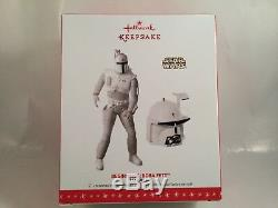 2016 Hallmark Comic Con Exclusive Star Wars Prototype Boba Fett Holiday Ornament