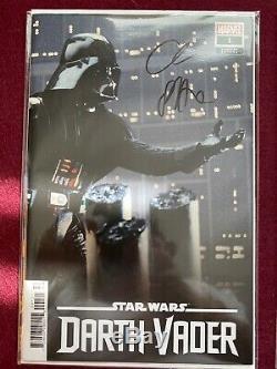 2 Signed Star WarsDarth Vader#1(Marvel, 2020) Michael Del Mundo 1100 Variant
