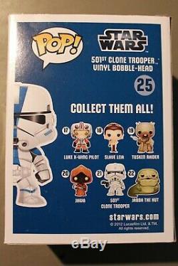 501st Clone Trooper Funko Pop 2012 San Diego Comic-Con Exclusive 480 Pieces