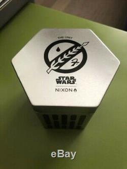 BOBA FETT Nixon The Unit Watch Star Wars 2018 SDCC Comic Con Exclusive 275/300