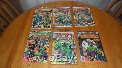 Bronze Key Comic Books Vf+ Lot Hulk 122 158 Star Wars #1 Avengers 196 Thor 337