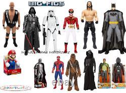 Big Figs Figures by Jakks Pacific WWE/Star Wars/DC Comics 18 to 48 Inch