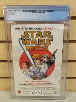 Boba Fett Enemy of the Empire #1-4 All CGC Graded Dark Horse Comics 1999 9.8