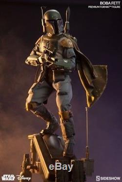 Boba Fett Exclusive Premium Format Statue Sideshow Star Wars