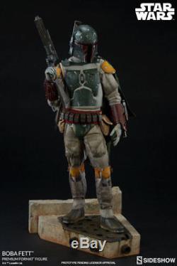 Boba Fett Premium Format Statue Sideshow Star Wars Darth Vader