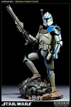 Captain Rex Star Wars Sideshow Premium Format Pf Statue Clone Wars Ltd 1250