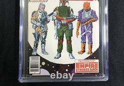 CGC 9.6 STAR WARS #42 MARVEL 1980 1st BOBA FETT EMPIRE STRIKES BACK NEWSSTAND