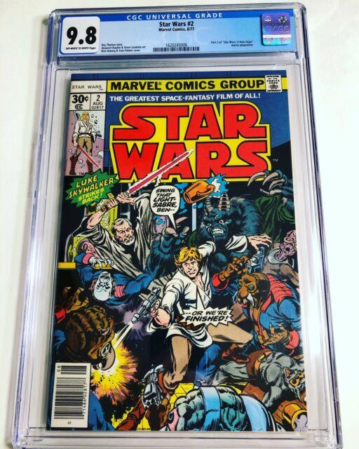 Cgc 9.8 Star Wars #2 1977 Marvel Off-white To White Pages 1st Obi-wan, Han Solo