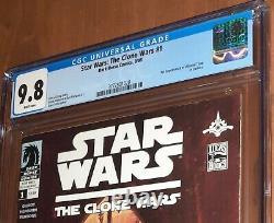 CGC 9.8 Star Wars The Clone Wars # 1. First Appearance of Ahsoka Tano in comics