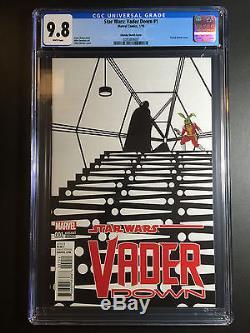 CGC 9.8 Star Wars Vader Down Zdarsky Sketch Variant Jaxxon 14999
