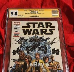 CGC SS 9.8STAR WARS #11st PRINTSIGNED INSCRIBED STAN LEEFORCE BE WITH YOUb