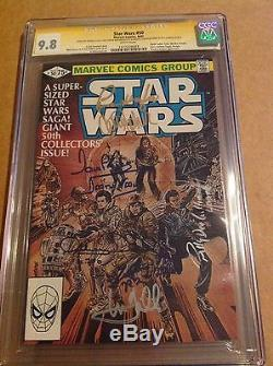 CGC SS 9.8 Star Wars #50 signed Hamill Fisher Daniels Baker Prowse Mayhew + one