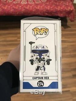 Captain Rex NYCC 2018 Exclusive #274 Clone Wars Funko Pop! New York Comic-Con
