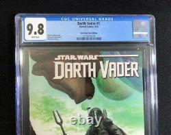 Cgc 9.8 Darth Vader #1 Alex Ross Exclusive Variant Star Wars Boba Fett Nm\mt
