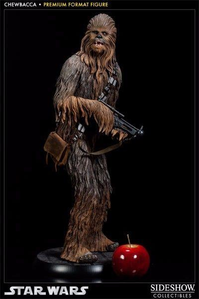 Chewbacca Premium Format Figure Sideshow Collectibles 1/4 Scale Star Wars