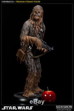 Chewbacca SOLO Sideshow Collectibles Premium Format Sealed in Box NEW Star Wars