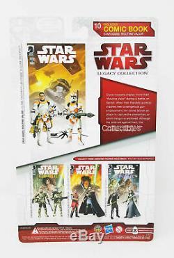 Clone Trooper Lieutenant & Clone Trooper Comic Pack Star Wars 2010 Routine Valor