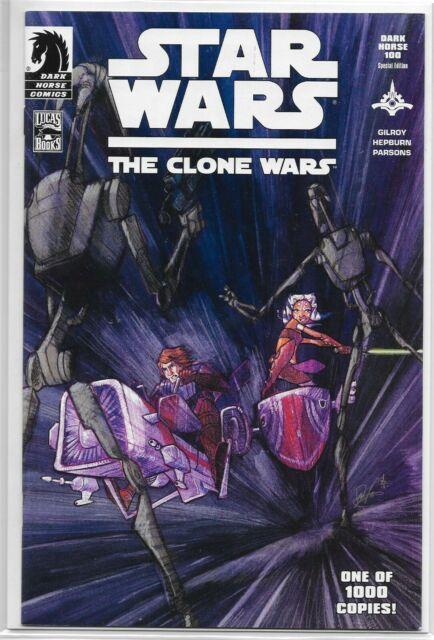 Clone Wars 1 1st Ahsoka Tano Dark Horse 100 Special Edition Variant Star Wars A