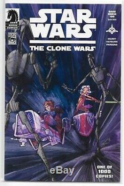 Clone Wars 1 1st Ahsoka Tano Dark Horse 100 Special Edition VARIANT Star Wars B