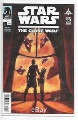 Clone Wars 1 1st Ahsoka Tano Dark Horse Star Wars VERY SCARCE Disney+