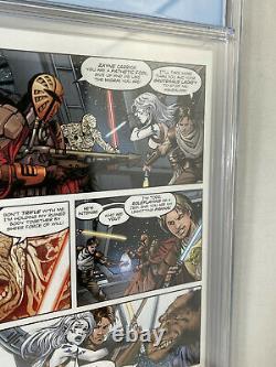 Clone Wars 1 CGC 9.8 Star Wars Dark Horse 2008 1st Ahsoka Tano Variant Cover WP