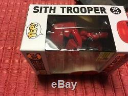 Comic Con SDCC 2019 Funko Pop! Star Wars Sith Trooper #306 (50th Anniversary)