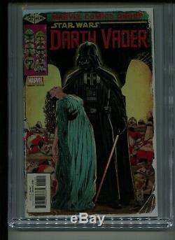 DARTH VADER #1 Variant 150 BROOKS X-Men 145 Homage Cover CGC 9.8Star Wars 3