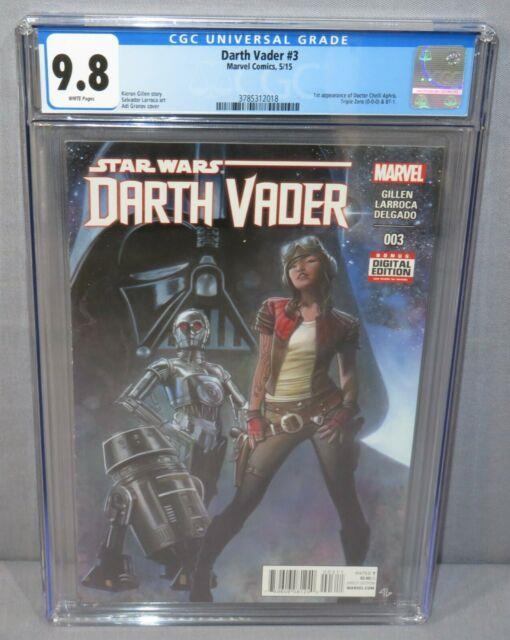 Darth Vader #3 (doctor Aphra 1st App) Cgc 9.8 Nm/mt Marvel Comics 2015 Star Wars