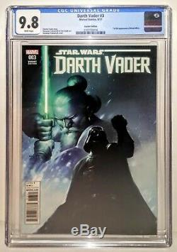 DARTH VADER #3 Variant 125 Cover 1st KIRAK INFIL'A CGC 9.8Marvel Star Wars 42