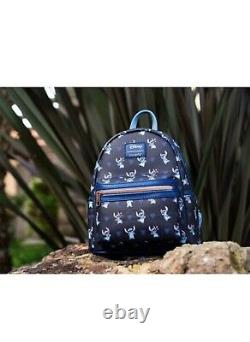 DISNEY Lilo & Stitch Mini Backpack NEW! Loungefly Exclusive READY TO SHIP! Hot