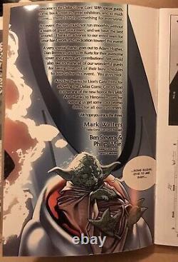 Dallas Comic Con 2004 Adam Hughes Dan Brereton Program Book Star Wars SIGNED