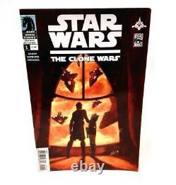 Dark Horse Comics Star Warsclone Wars #1 Vf- Nm-2008 1st Ever Ahsoka Tano